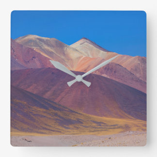 A lonely path square wall clock