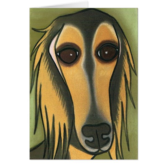 A Long Face by Robyn Feeley Card