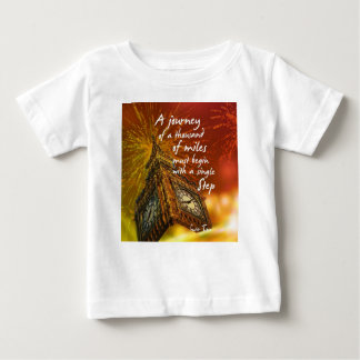 A long road starts with a single step baby T-Shirt