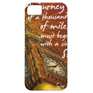 A long road starts with a single step iPhone 5 cover