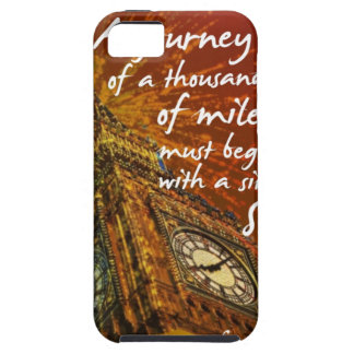 A long road starts with a single step iPhone 5 covers