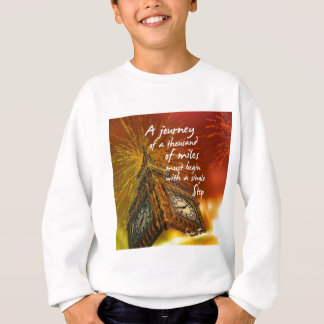 A long road starts with a single step sweatshirt