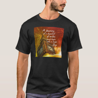 A long road starts with a single step T-Shirt
