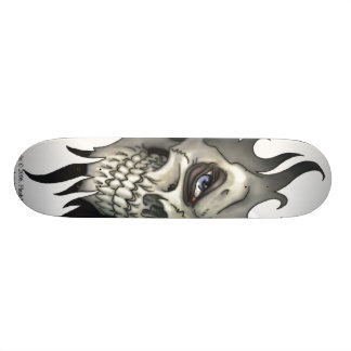 A Look From A Skull Skateboard