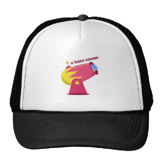 A Loose Cannon Mesh Hat