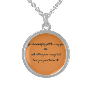 a love present for her sterling silver necklace