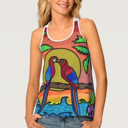 A love story tank top