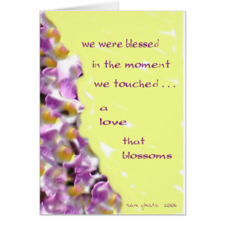 A Love that Blossoms Card