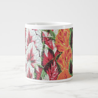A lovely Philip Jacobs Fabric Begonia Columns Mug