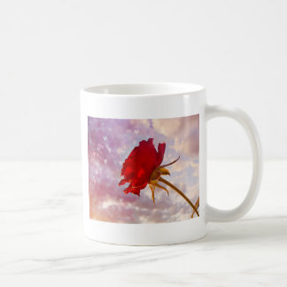 A Lovely Rose For The Lady Classic White Coffee Mug