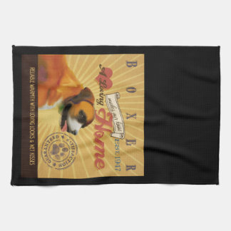 A Loving Boxer Makes Our House Home Kitchen Towel