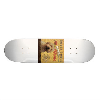 A Loving Golden Doodle Makes Our House Home Skateboard Deck