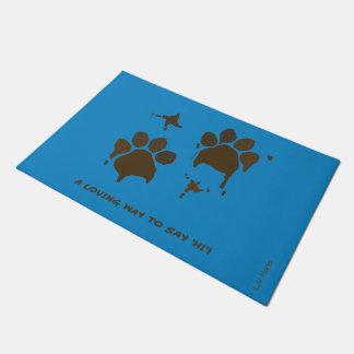 A loving way tons say 'Hi' Doormat
