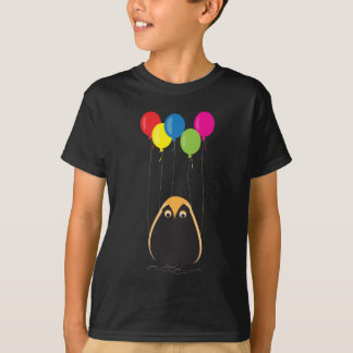 A lucky owl with happy balloons T-Shirt
