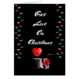 A Lyrical Christmas Card