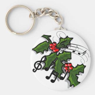 A Lyrical Christmas Keychain