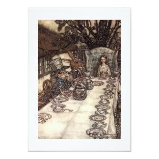 A Mad Tea-Party Card