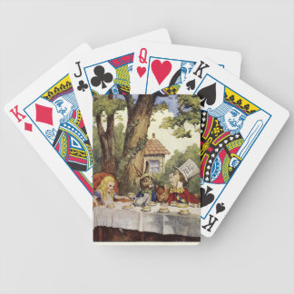 A MAD TEA PARTY PLAYING CARDS