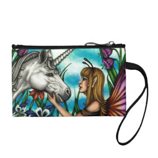 A Magical Friendship: Fairy and Unicorn Wristlet