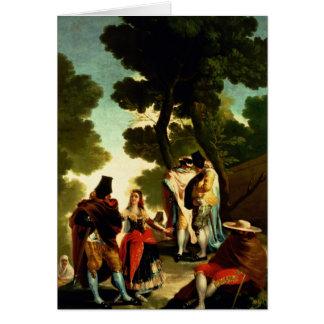 A Maja and Gallants 1777 Card