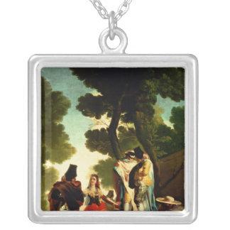 A Maja and Gallants, 1777 Pendant