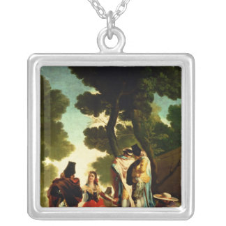 A Maja and Gallants, 1777 Silver Plated Necklace
