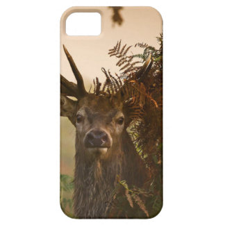A Male Red Deer Blends in London's Richmond Park. Case For The iPhone 5