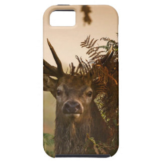 A Male Red Deer Blends in London's Richmond Park. iPhone 5 Covers