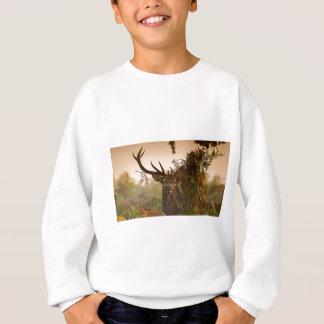 A Male Red Deer Blends in London's Richmond Park. Sweatshirt