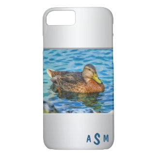 A Mallard Male Duck in the Water iPhone 8/7 Case