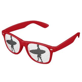 A man and his Board Retro Sunglasses
