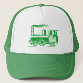 A Man and His Train - Grass Green Trucker Hat