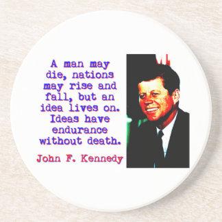 A Man May Die - John Kennedy Coaster