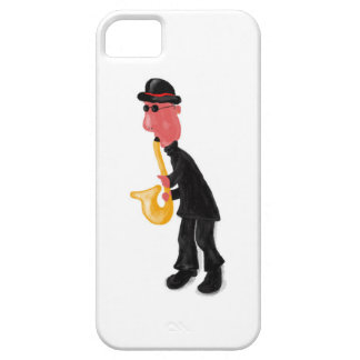 A man playing saxophone case for the iPhone 5
