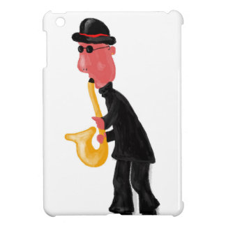 A man playing saxophone iPad mini cover