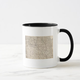 A Map of the British Empire in America Sheet 5 Mug