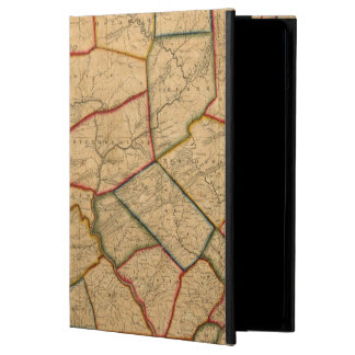 A Map Of The State Of Pennsylvania iPad Air Covers