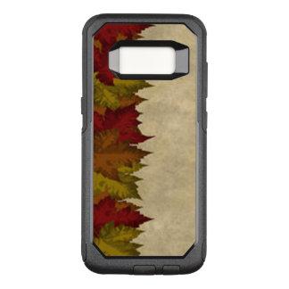 A Maple Leaf Border OtterBox Commuter Samsung Galaxy S8 Case