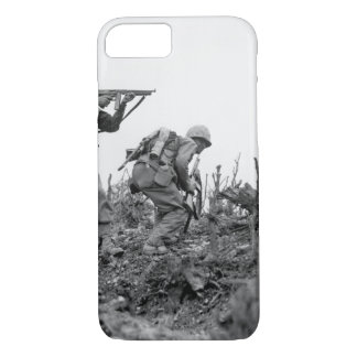 A Marine of the 1st Marine Division _War Image iPhone 7 Case