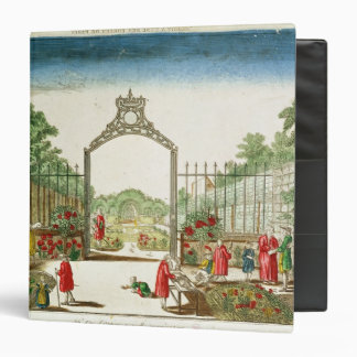 A Market Garden at One of the Gates of Paris 3 Ring Binders