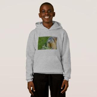 a  marmot on Kids' Hanes Comfort Blend® Hoodie