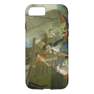 A Married Sailor's Adieu, c.1800 (oil on panel) iPhone 7 Case