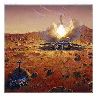 A Mars ascent vehicle 2 Photographic Print