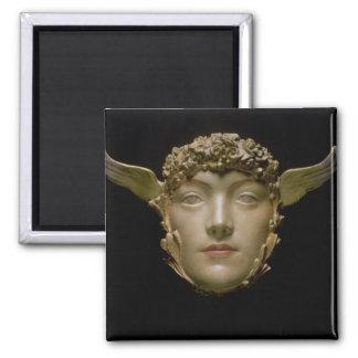 A Mask, c.1897 Magnet