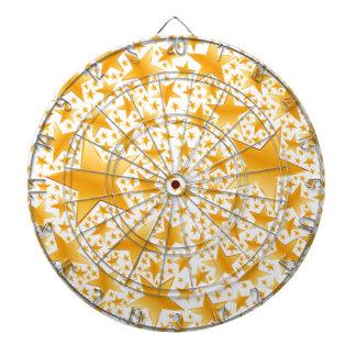 A Massive Amount of Gold Stars Dartboard
