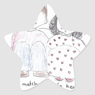 A_match_made_in_heaven Star Stickers
