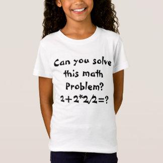 A math problem 2+2*2/2=? T-Shirt