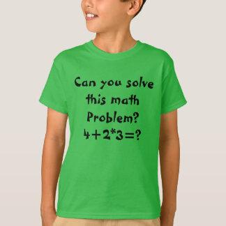 A math problem T-Shirt