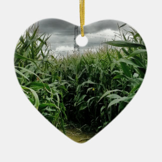 A maze of maize ceramic ornament