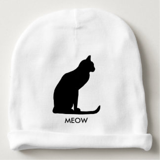 A-MAZING Kitty Meow Unisex Baby Beanie